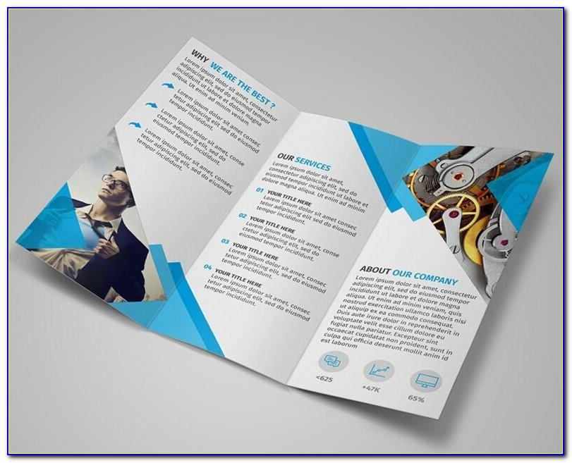 Tri Fold Brochure Template In Word