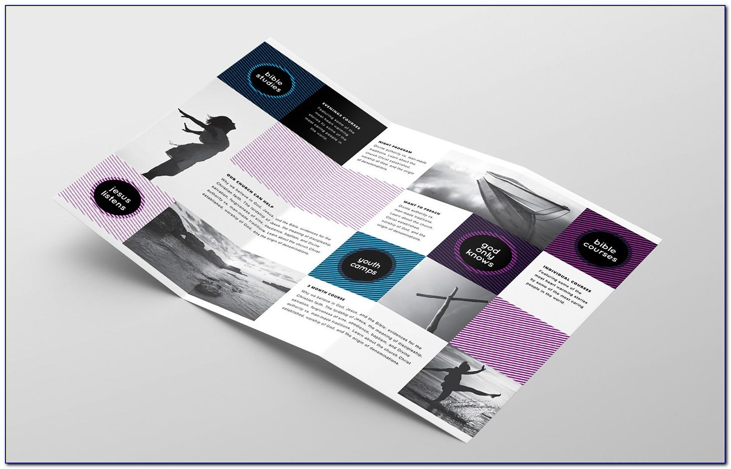 Tri Fold Brochure Template Microsoft Word 2013