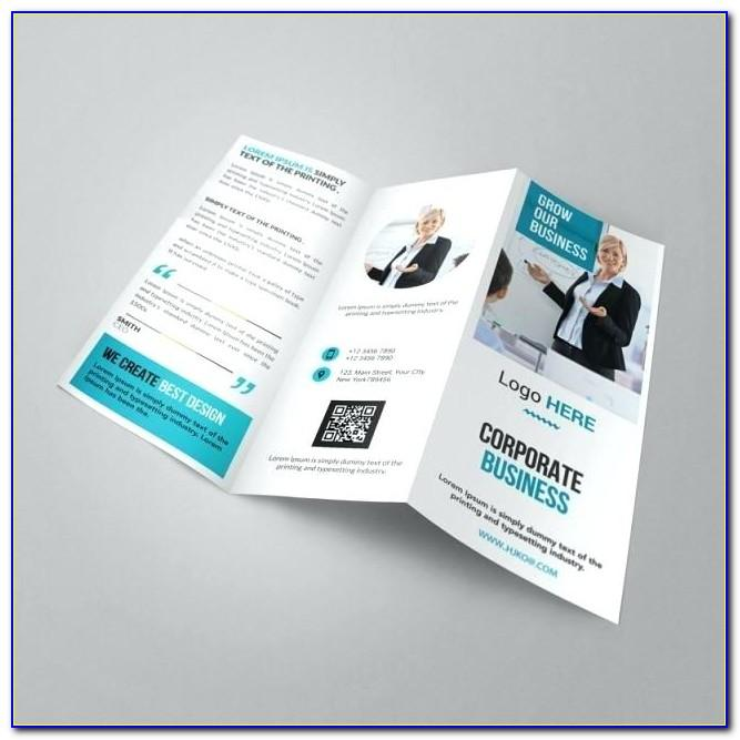 Tri Fold Brochure Template Pages Mac