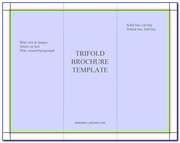 Tri Fold Brochure Template Word 2007 Free