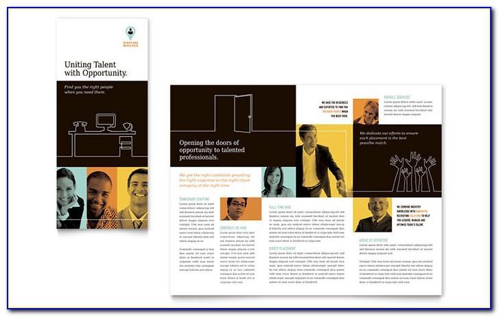 Tri Fold Brochure Template Word Mac