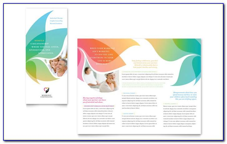 Tri Fold Brochure Template Word Publisher