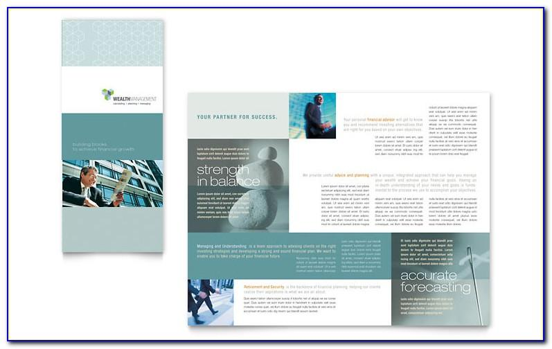 Tri Fold Brochure Templates Free Download For Word