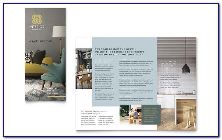 Tri Fold Brochure Templates Illustrator