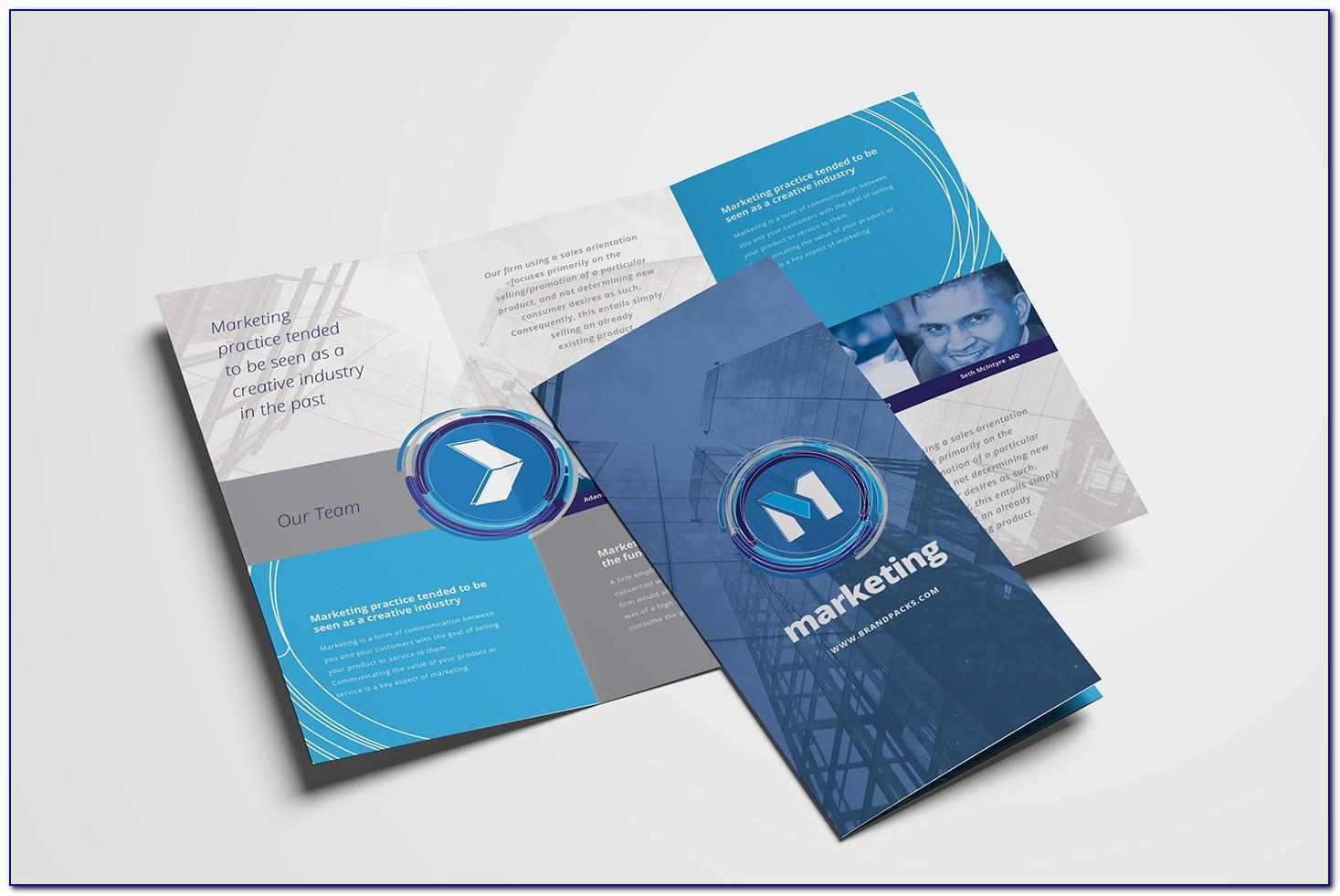 Tri Fold Brochure Templates Publisher Free
