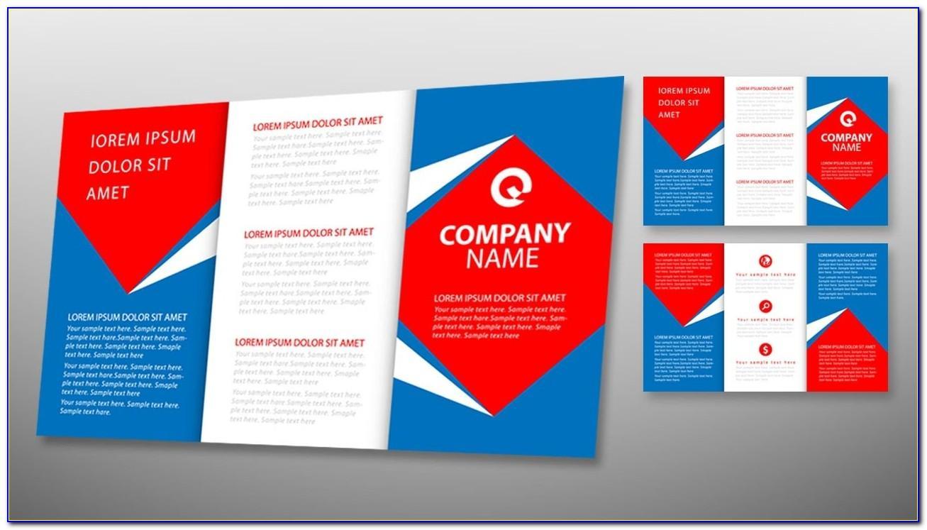 Tri Fold Flyer Template Illustrator