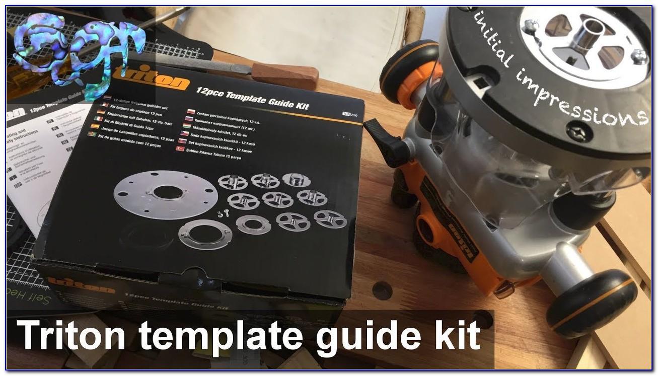 Triton Router 12pce Template Guide Kit
