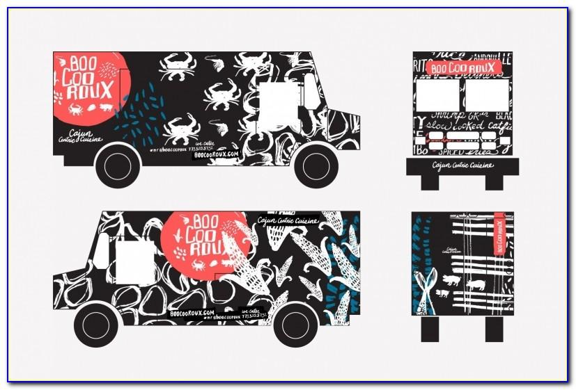 Truck Wrap Template Download