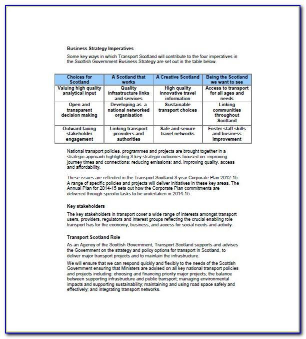 Trucking Business Plan Template Pdf