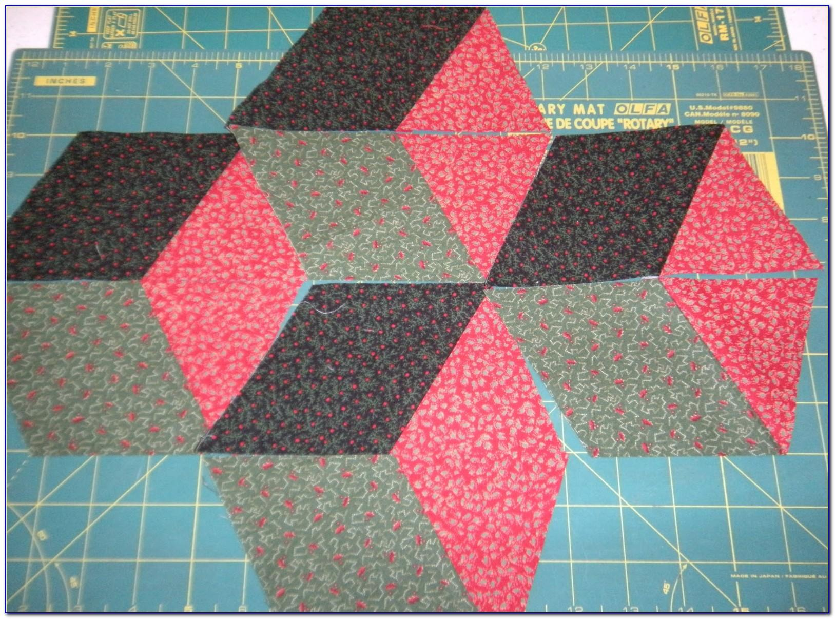 Tumbling Block Quilt Patterns For Beginners