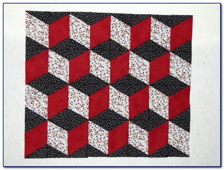 Tumbling Block Quilt Patterns