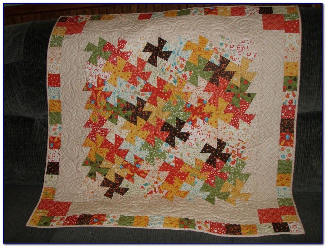 Twister Quilt Pattern Wreath
