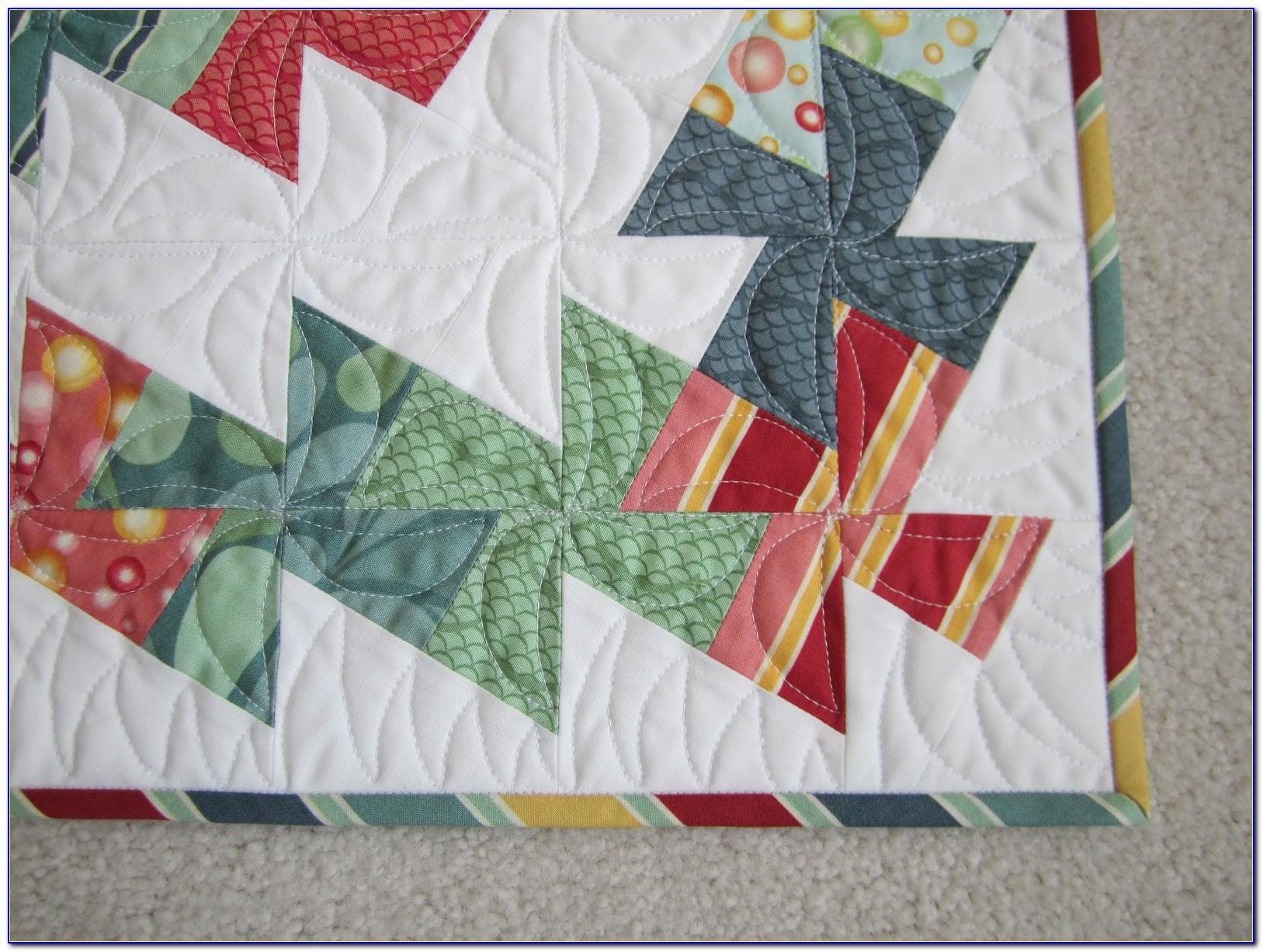 Twister Wreath Quilt Pattern