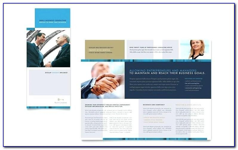 Two Fold Brochure Template Download