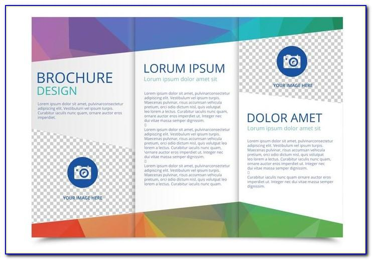 Two Fold Brochure Template Free Download