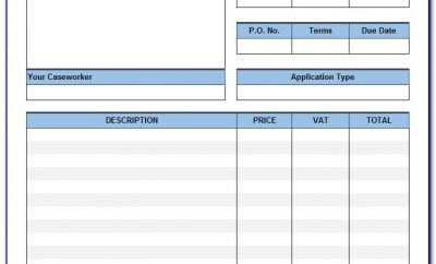 Uk Reverse Charge Vat Invoice Example