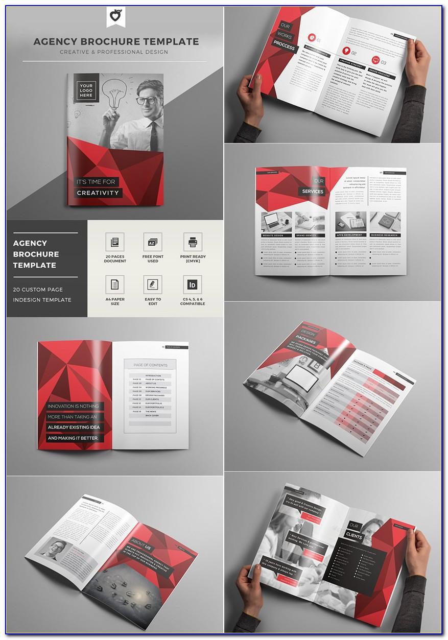 Unique Brochure Templates Free