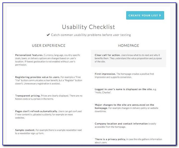 Usability Test Report Format