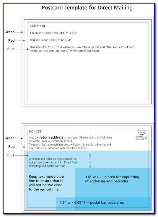 Usps Direct Mail Templates