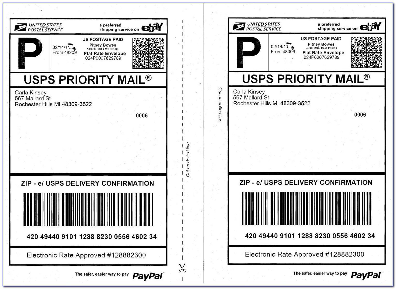 Usps Mailing Label Format