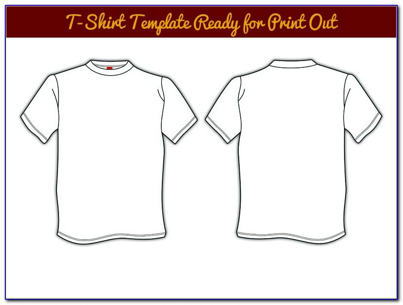Vector T Shirt Mockup Templates Free Download
