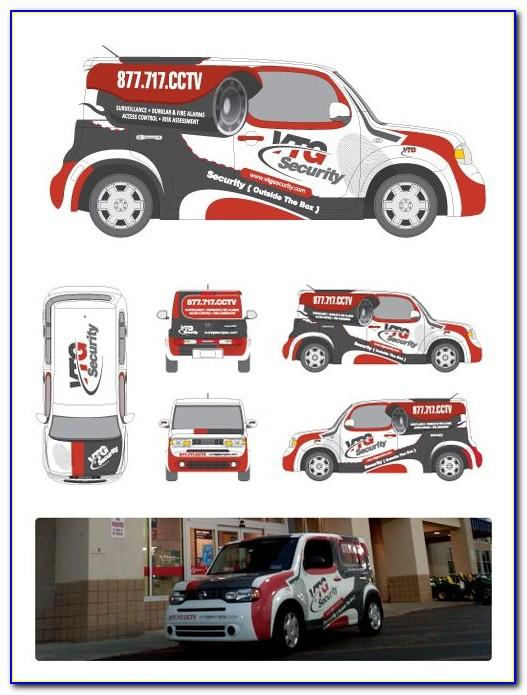 Vehicle Graphics Wrap Templates
