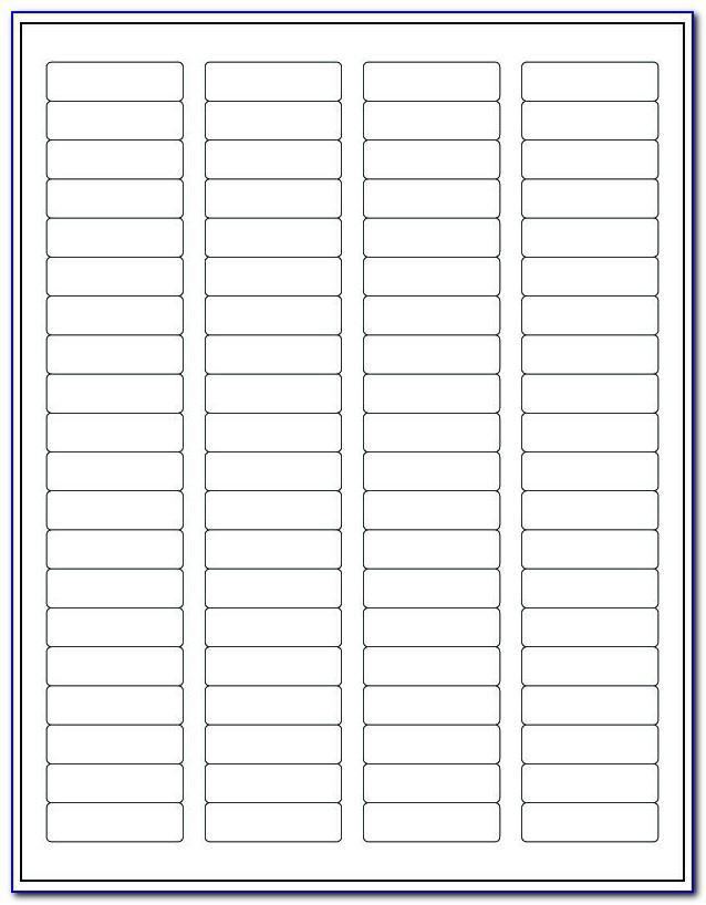 Word Template For Return Address Labels