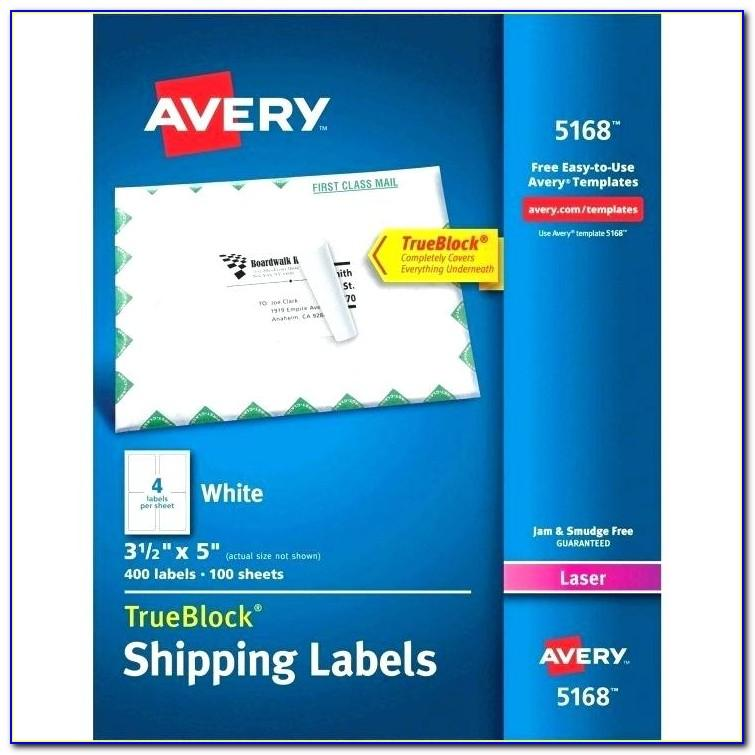Word Templates For Avery Labels 5162
