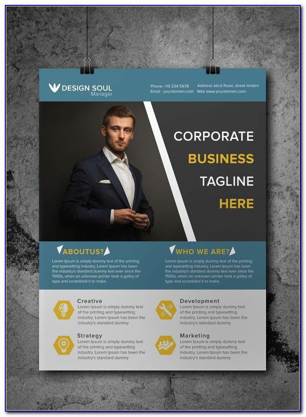 Word Templates For Business Flyers