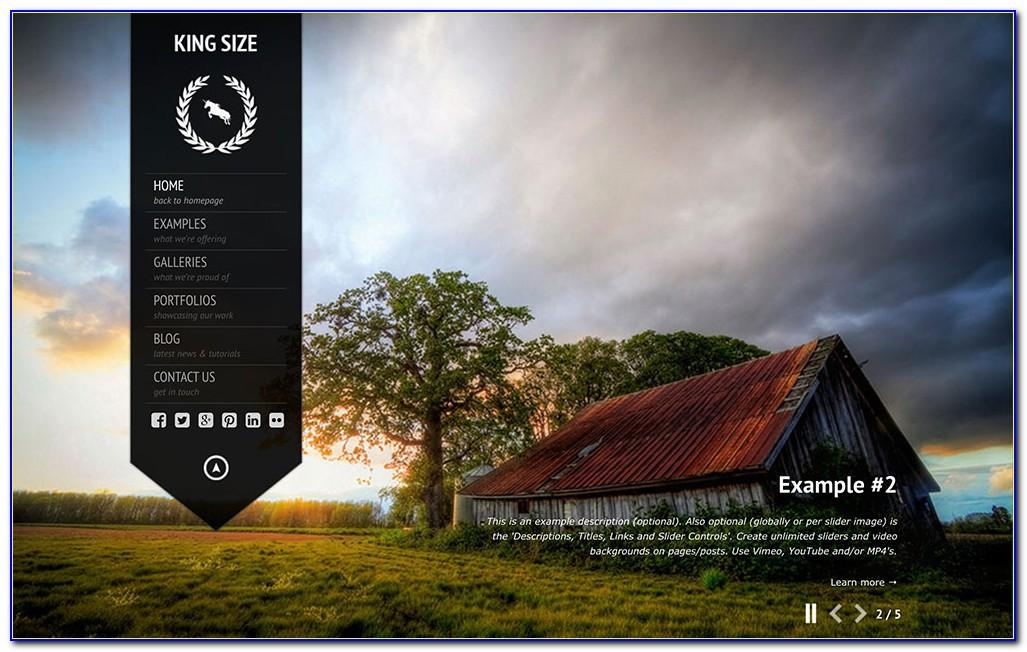 Wordpress Templates For Photographers Free