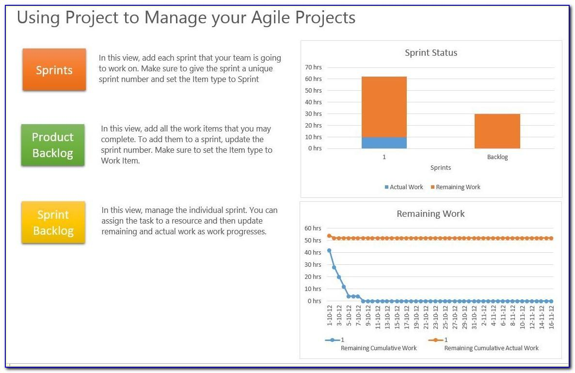 Agile Project Plan Mpp Sample