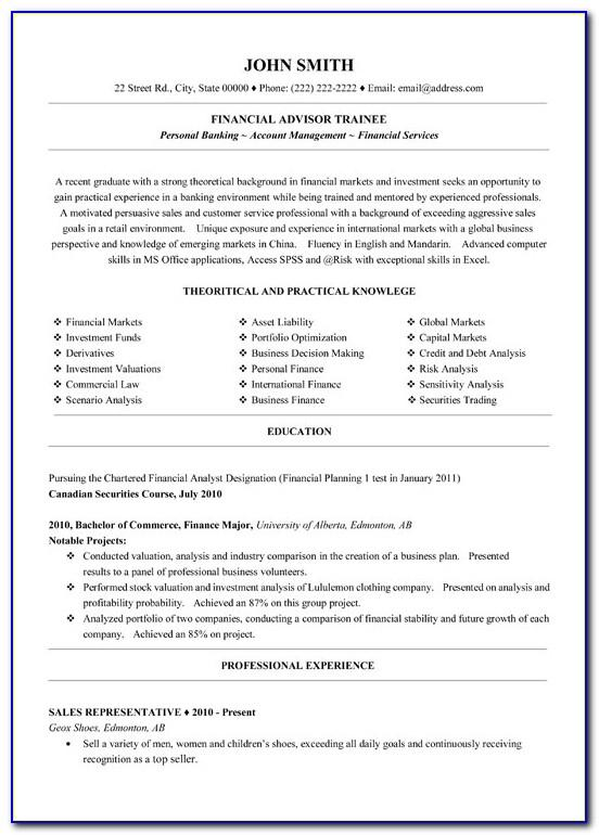 Assistant Store Manager Cv Template