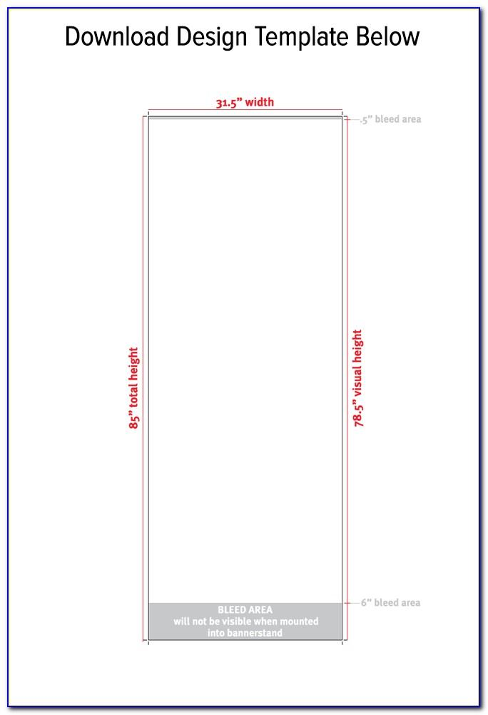 Banner Stand Free Design Template