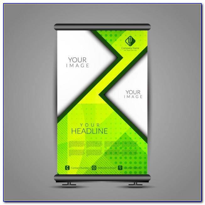 Banner Stand Template Photoshop