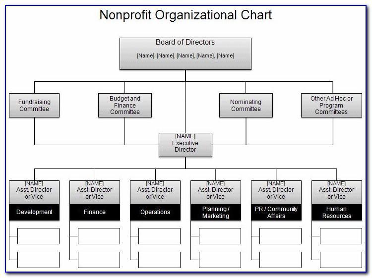 Best Organisation Chart Template