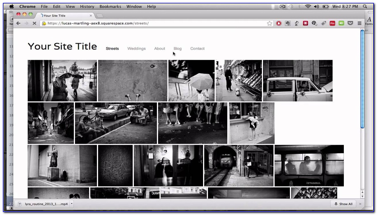 Best Squarespace Templates For Photography
