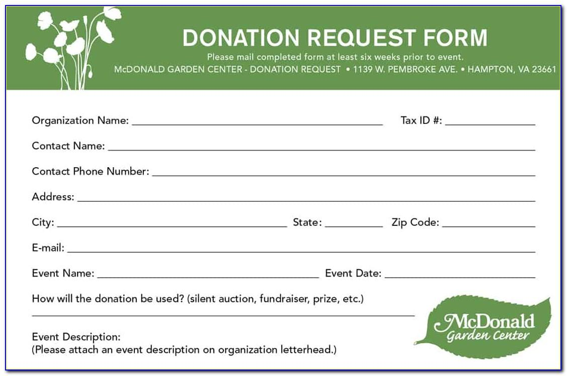 Charity Sponsorship Form Template Word