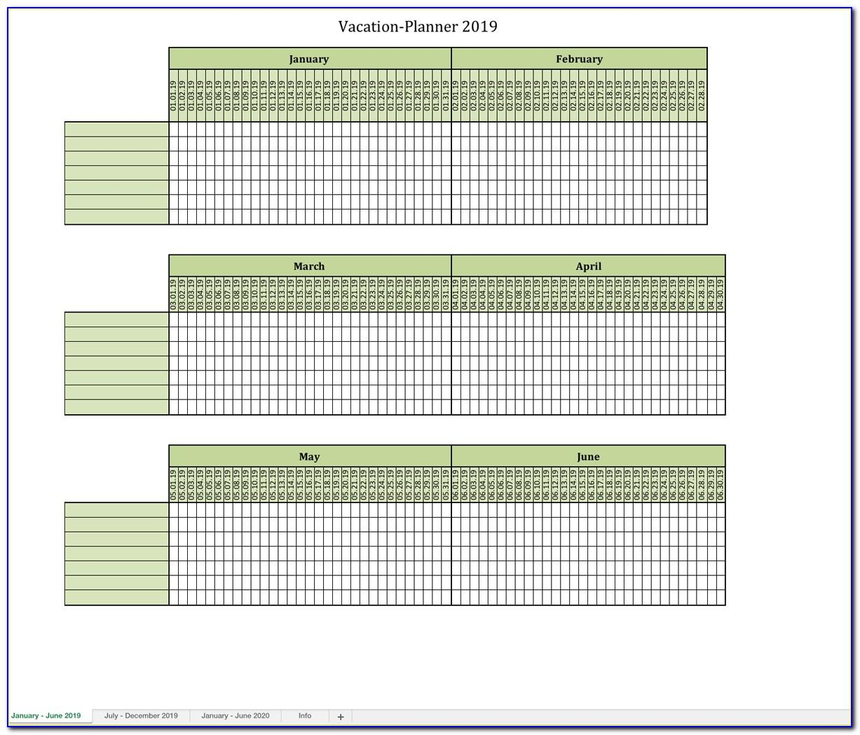 Class Schedule Maker Excel Template