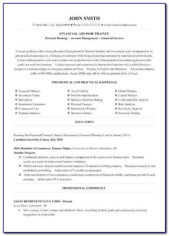 Construction Store Manager Resume Format