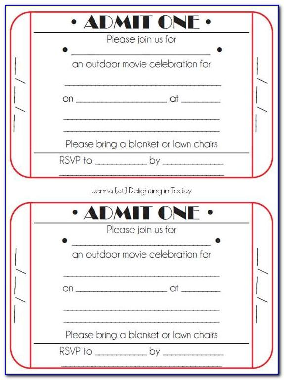 Elopement Party Invitation Template