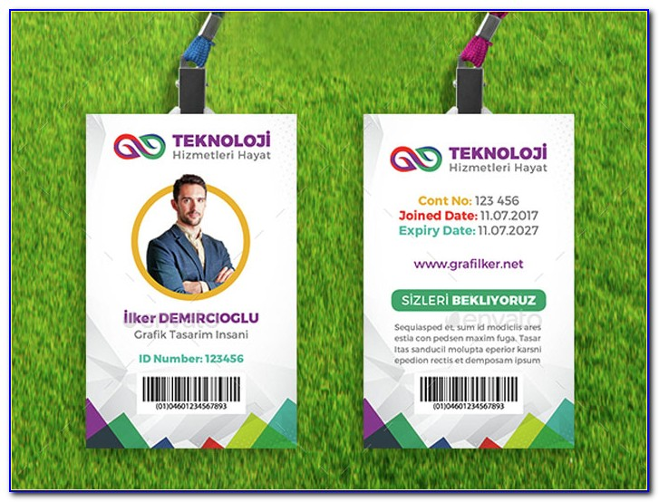 Employee Id Card Template Microsoft Publisher