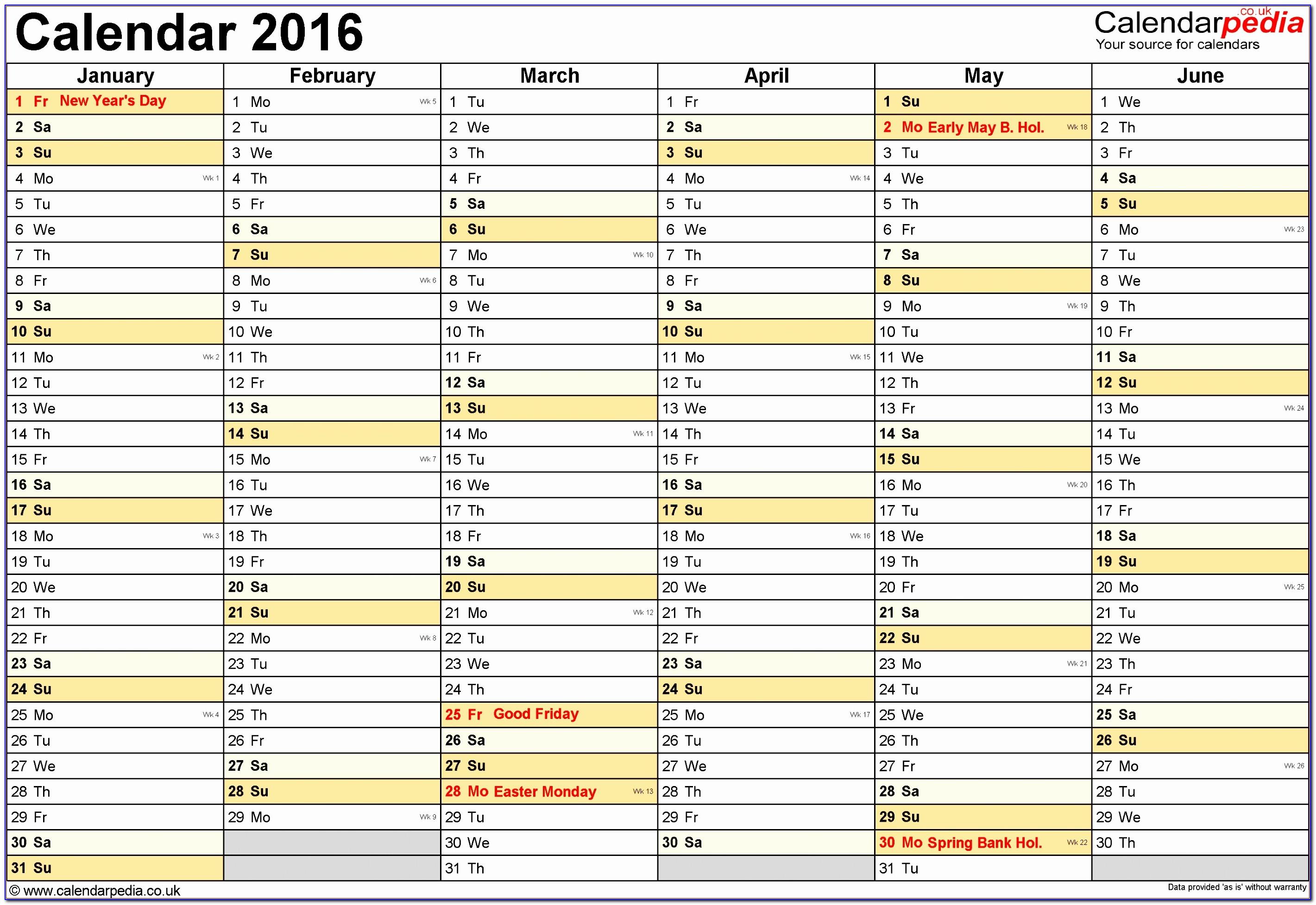 Employee Schedule Template Word
