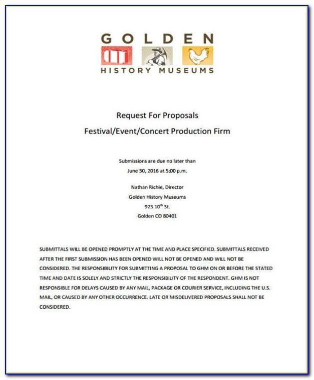 Event Sponsorship Proposal Template Free Pdf