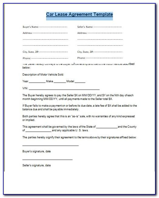 Free Commercial Sublease Contract Template