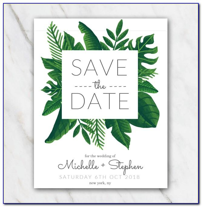 Free Customizable Save The Date Templates For Email