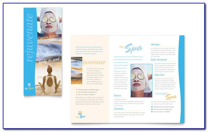 Free Printable Spa Brochure Templates