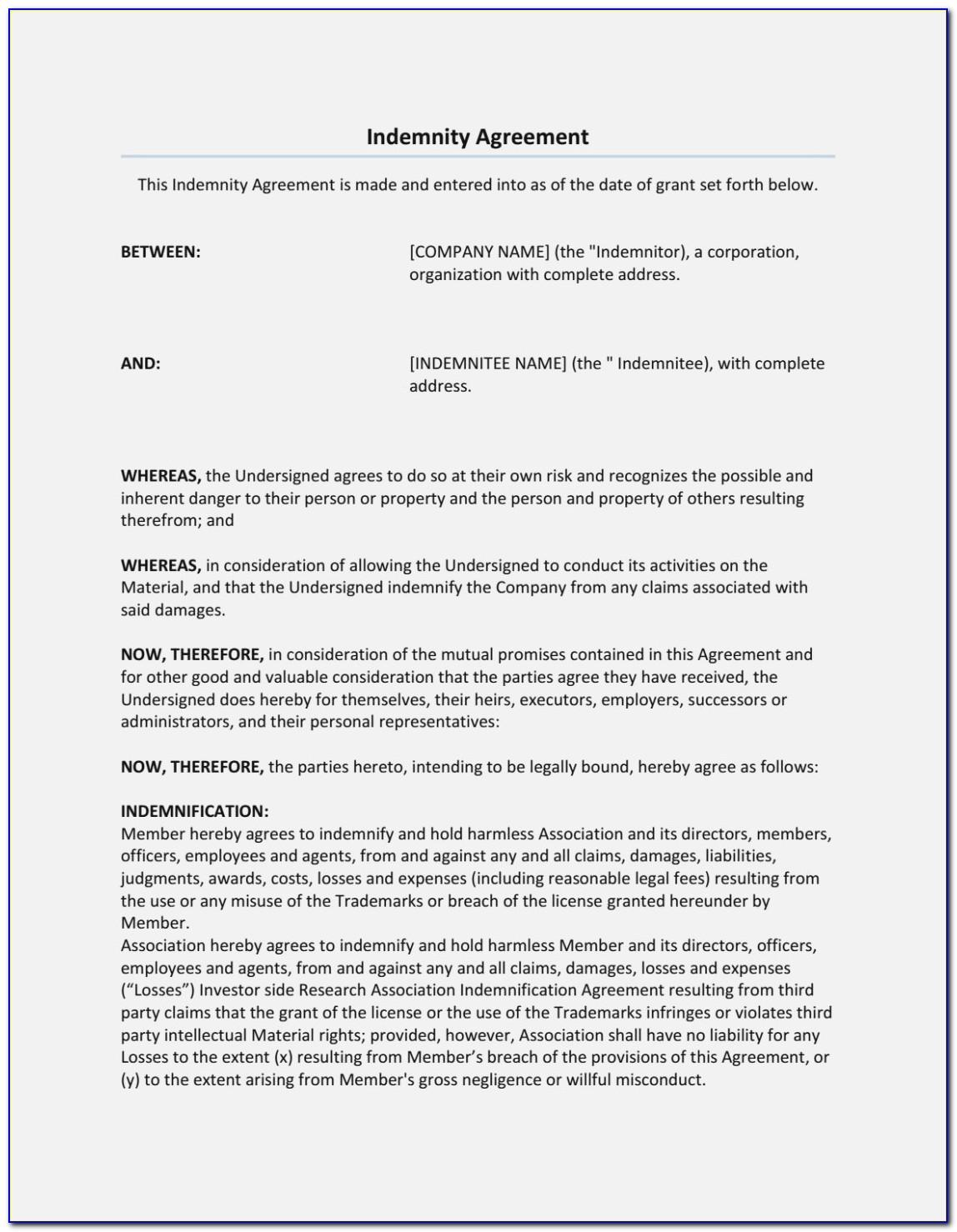 Free Separation Agreement Template Ny