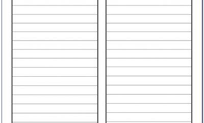 Free Silent Auction Bid Sheet Template For Mac