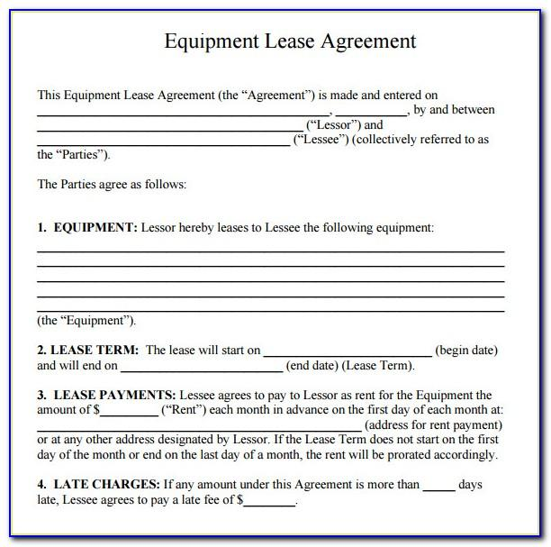 Free Simple Commercial Lease Agreement Template South Africa