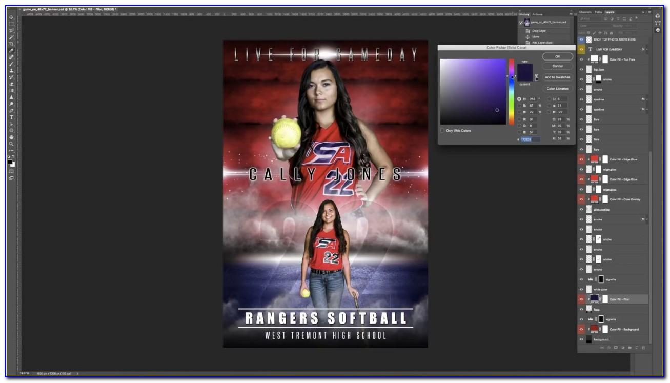 Free Sports Templates For Photographers